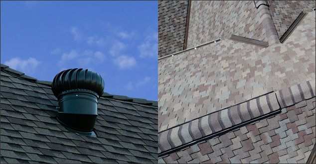 Attic ventilation vents compared