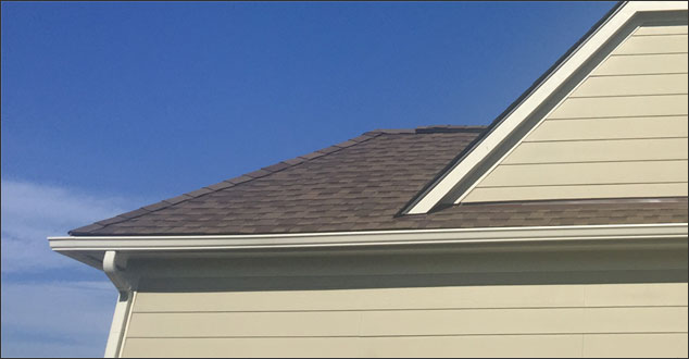 Gutters depicting Replacing Gutters
